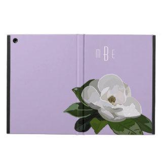 Flor artística de la magnolia en púrpura