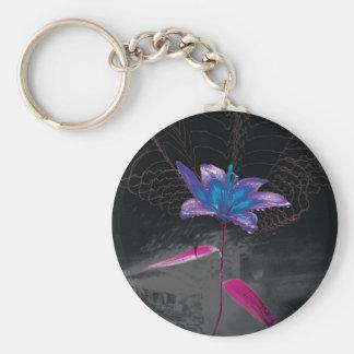 Flor atómica llaveros