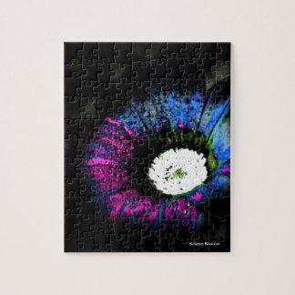 Flor atómica rompecabezas con fotos