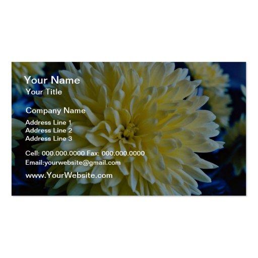 Flor, aún flores de la vida plantillas de tarjeta de negocio