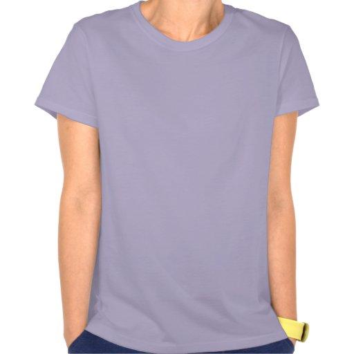 Flor azul de Knotwork Camiseta