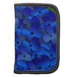 Flor azul del Hydrangea Planificador