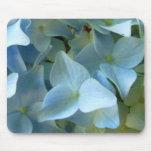Flor azul II Mousepad del Hydrangea