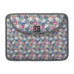 "Flor azul MacBook 13"" manga Funda Macbook Pro"