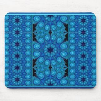 Flor Azul Mousepad