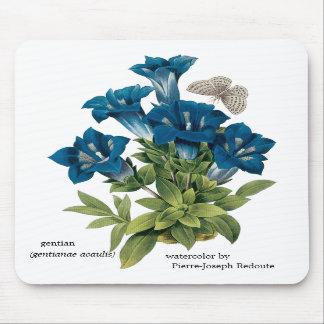 Flor azul Mousepad de Redoute