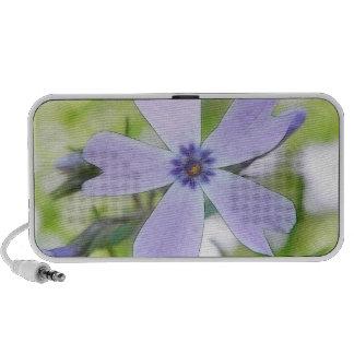 Flor azul perfecta del Phlox del arrastramiento Mp3 Altavoces