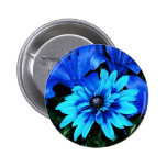 Flor azul pins