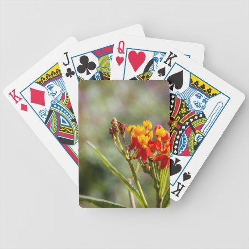 Flor Baraja Cartas De Poker