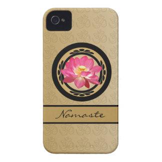 Flor Blackberry 9700/9780 intrépido de Lotus OM Carcasa Para iPhone 4 De Case-Mate