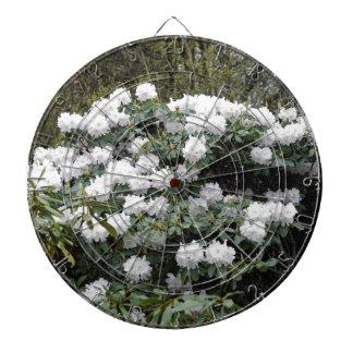 """Flor """"blanca como la nieve"""" nepalesa de tabla dardos"""