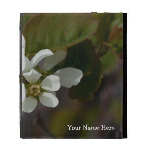 Flor blanca con la hormiga; Personalizable