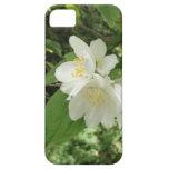 Flor blanco del árbol iPhone 5 Case-Mate protectores