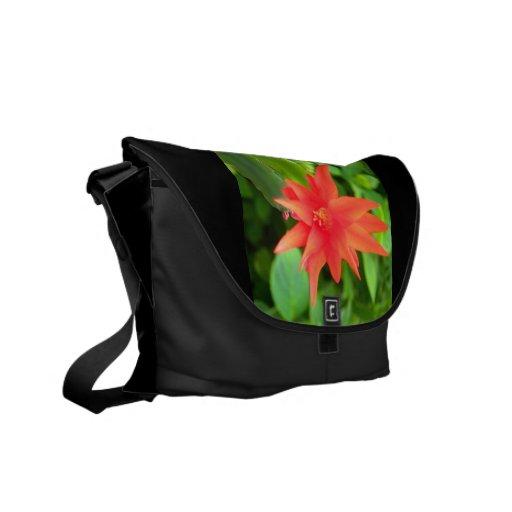 flor bolsas de mensajería