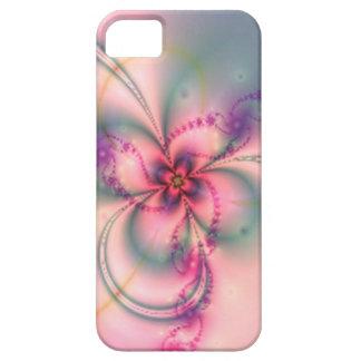 Flor bonita del fractal iPhone 5 carcasa