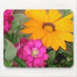 Flor brillante linda Mousepad del verano Tapete De Raton