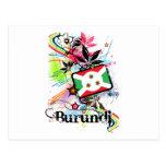 Flor Burundi Postales