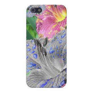 Flor caja del teléfono de la mota iPhone 5 cobertura