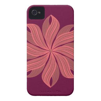 Flor Carcasa Para iPhone 4 De Case-Mate