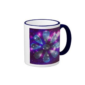 Flor Coffe del espacio/taza del té