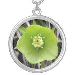 Flor Collar-Flor-Verde