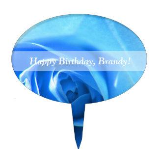 flor color de rosa azul elegante moderna fresca