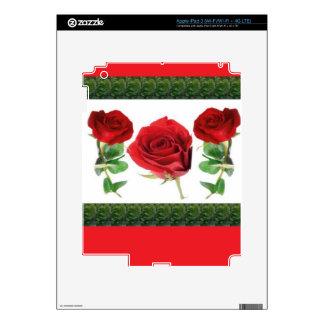 FLOR COLOR DE ROSA iPad 3 SKINS