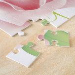 Flor color de rosa puzzle