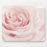 Flor color de rosa rosa clara - flores de los alfombrilla de ratón