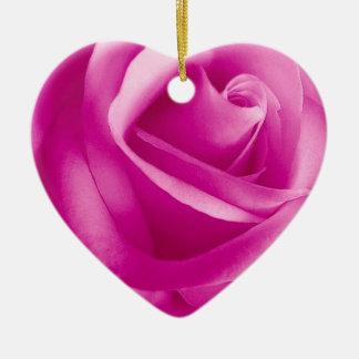 Flor color de rosa ROSADA Ornamento Para Reyes Magos