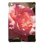 Flor color de rosa rosado iPad mini protectores