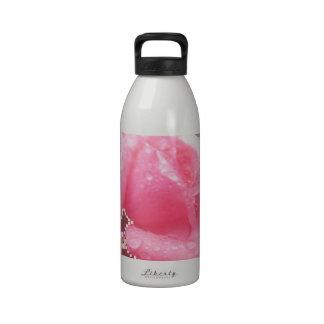 Flor color de rosa sensual ART101 Botellas De Beber