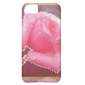 Flor color de rosa sensual ART101 Carcasa iPhone 5C