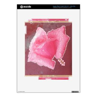 Flor color de rosa sensual ART101 iPad 3 Pegatina Skin