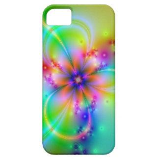 Flor colorida con las cintas iPhone 5 Case-Mate cárcasas