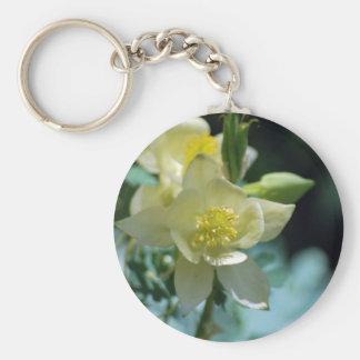 Flor columbine bonita y significado llavero