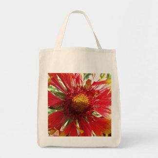 Flor combinada bolsa tela para la compra
