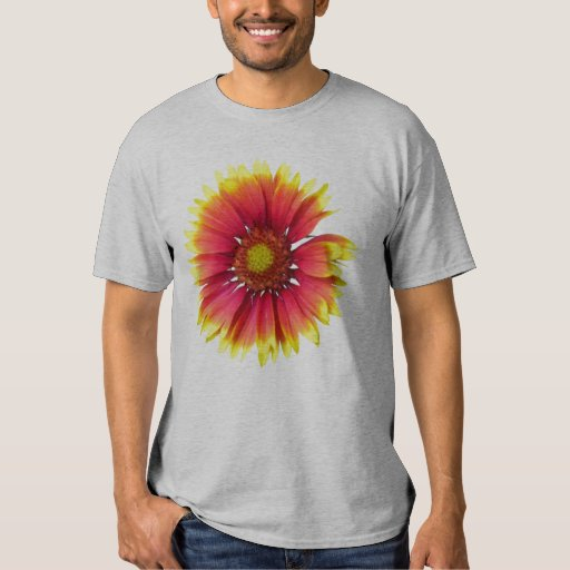 Flor combinada india playera