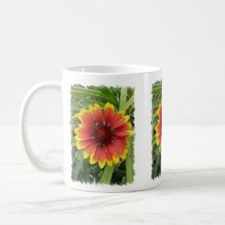 Flor combinada india taza clásica