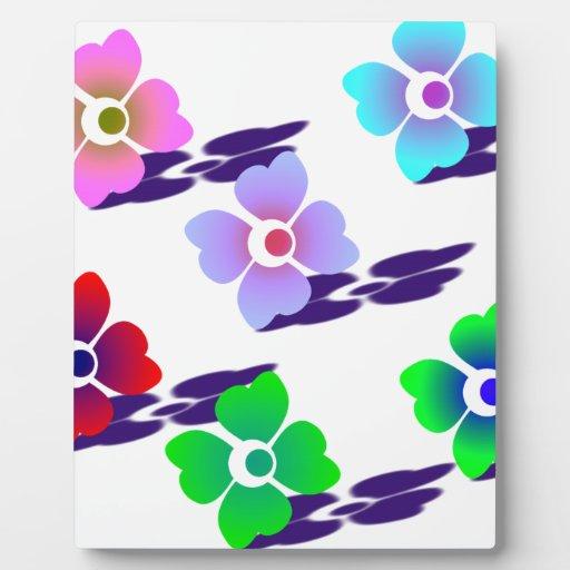 flor con shadows.png placa de plastico