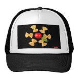 Flor creativa de las pastas gorras