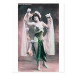 Flor Dancer* del *Vintage Postales