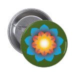 flor de 9-Point Lotus Pin