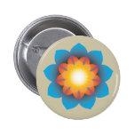 flor de 9-Point Lotus Pins