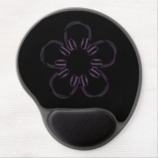 Flor de auriculares alfombrilla con gel