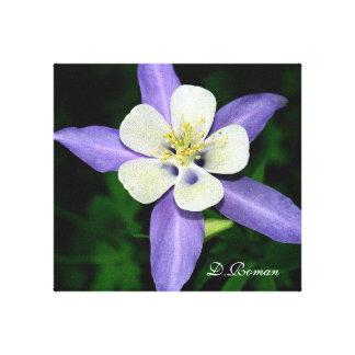 Flor de Beautilful Impresiones En Lienzo Estiradas