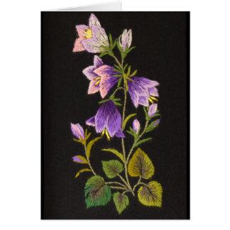 Flor de Bell Tarjeta De Felicitación