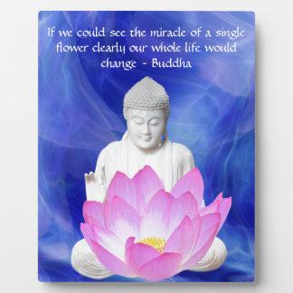 Flor de Buda Lotus Placas Con Fotos