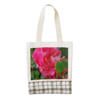 Flor de Camelia de las rosas fuertes Bolsa Tote Zazzle HEART