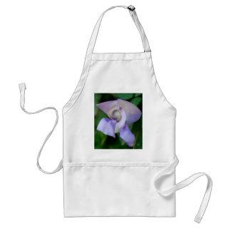 Flor de caracol delantal